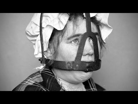 Scold's bridle: instrument of torture and punishment - YouTube