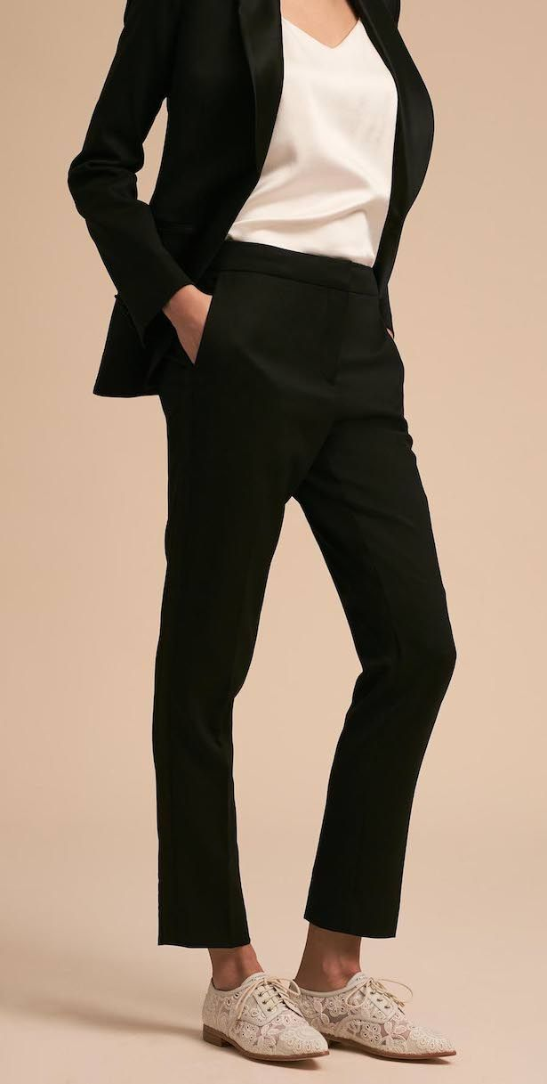 216793f5bc2 For the Girl Who Doesn't Want a Dress: Wedding Tuxedos by The Black Tux |  Wedding Guests Dresses | Tuxedo wedding, Black tux, Wedding outfits for  women