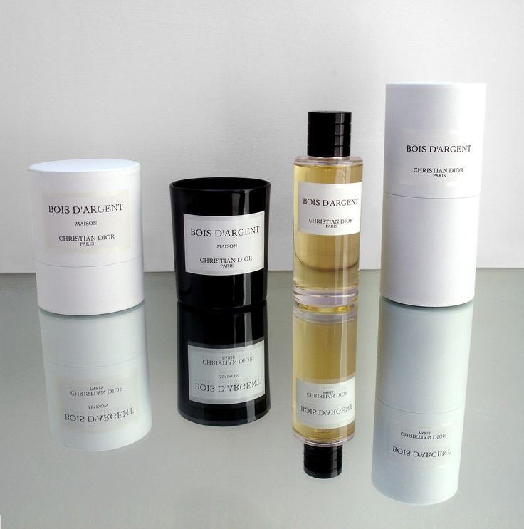 Christian Dior's La Collection Privée's Candles& Fragrances Bois d'Argent Nice packaging  # Bois D Argent Gris Montaigne