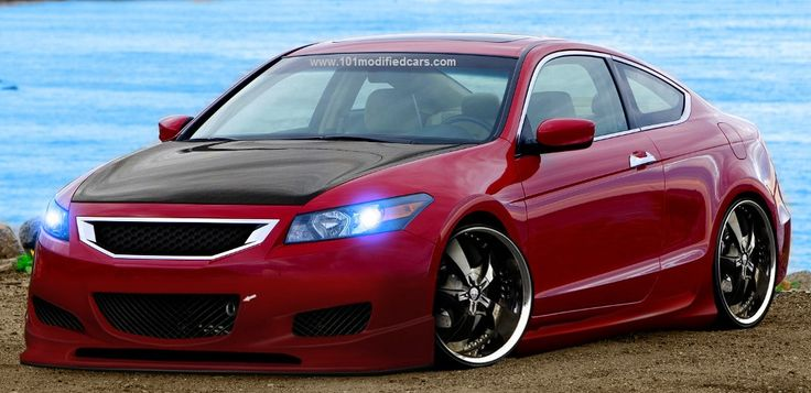 Modified Honda Accord Coupe (8th generation)  http://www.carkipedia.com/blog/2008/11/02/modified-custom-black-honda-accord-coupe/  http://www.101modifiedcars.com/2012/01/13/modified-honda-accord-coupe-8th-generation/