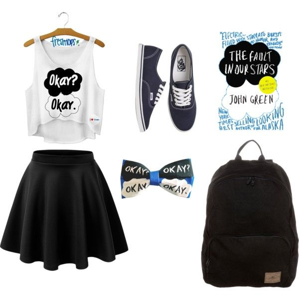 """Middle School Clothes"" by cayley-guentner on Polyvore i dont know about you but i already have the skater girl skirt....dont you think this one totally cute and unique"