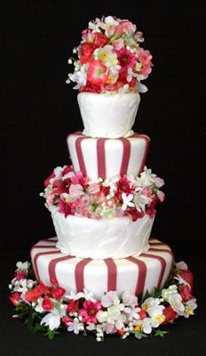Tall order fondant covered cake