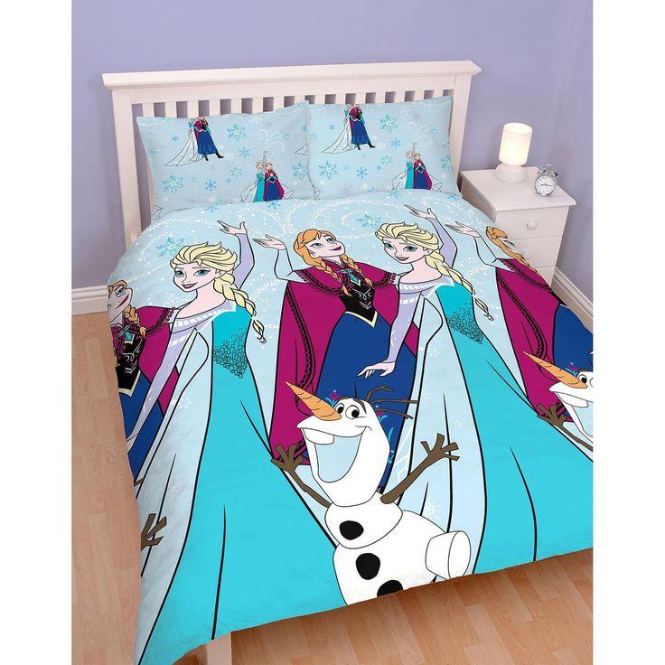 Disney Frozen Lights Single Quilt Cover Set. Available at Kids Mega Mart online shop Australia www.kidsmegamart.com.au