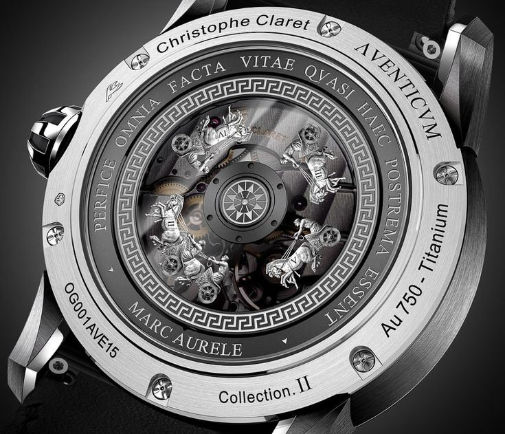 Christophe Claret Aventicum Watch With Mirascope Dial