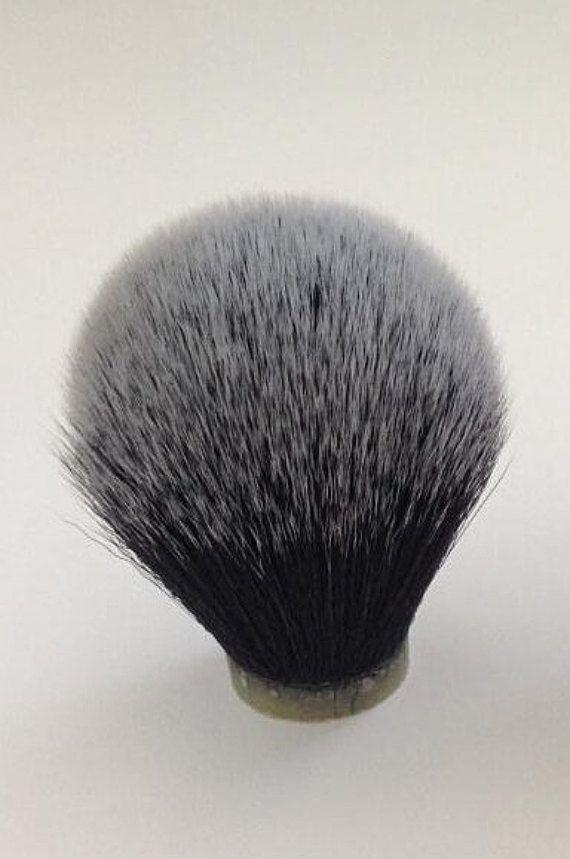 De Tuxedo - Extra dichte synthetische Shaving Brush Knot 24mm - zwart/wit - APShaveCo.