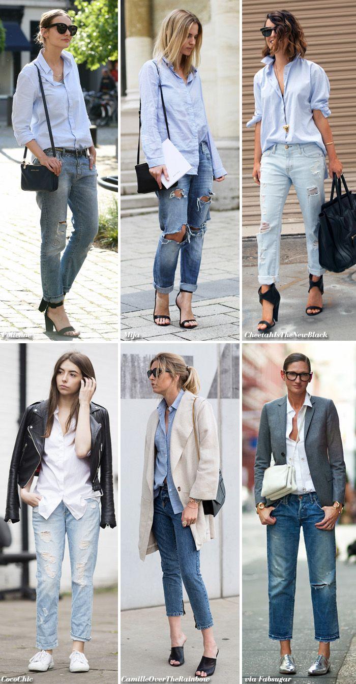 Basics: Shirt + Jeans