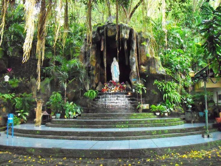 Wisata Religi Kristen Katholik Jogja: GUA MARIA SENDANG SRININGSIH - KLATEN