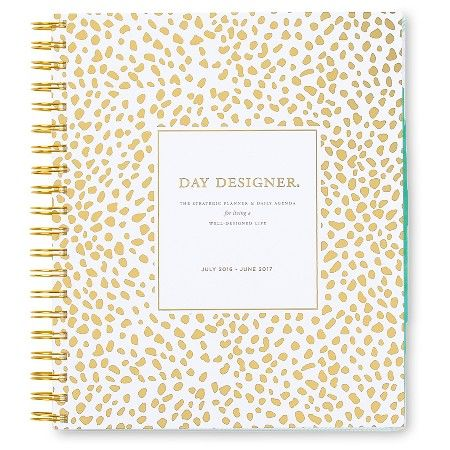 20 Day Designer Weekly Monthly Planner 2016 2017 372pgs