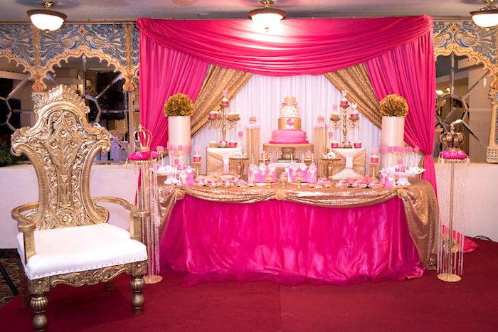 Royal Princess Baby Shower  Baby Shower Ideas  Baby