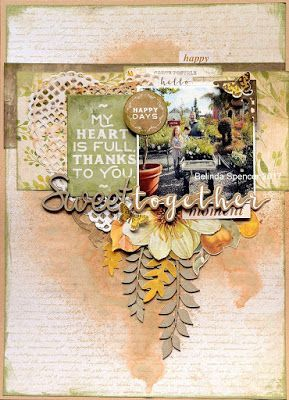 The Scrapbook Store DT - Kaisercraft Golden Grove 2