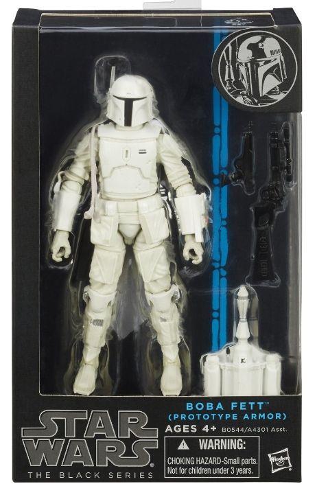 black series 6 inch figures | Boba Fett Prototype Armor Star Wars Black Series 6 Inch Exclusive ...
