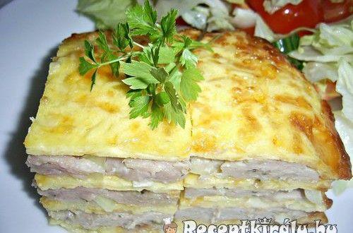 Különleges csirkés pite | Receptkirály.hu