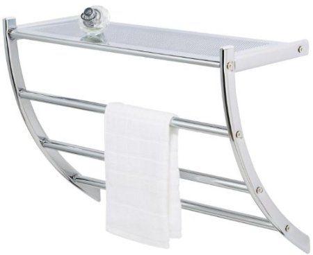 Arc Hotel Towel Rack Amazon Co Uk Kitchen Amp Home