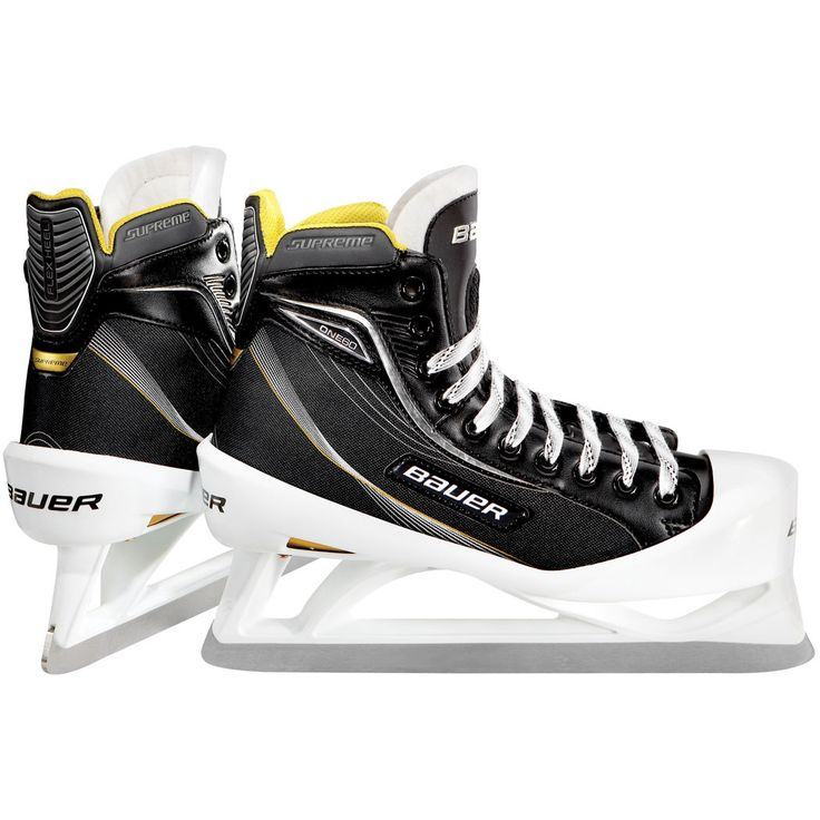 Bauer Supreme ONE60 Ice Hockey Goalie Skates - Junior