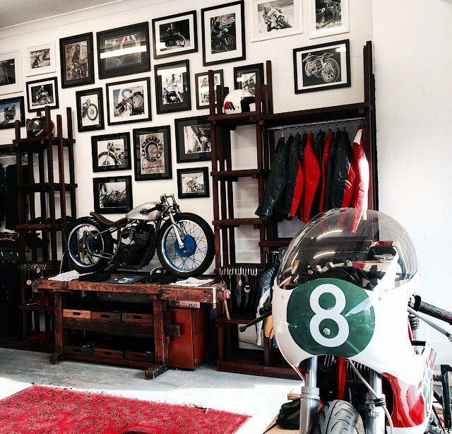 #interior #design #motorcycle #shop