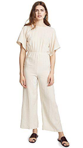 Womens Linen Leon Jumpsuit Designer Evening Bags Jumpsuit