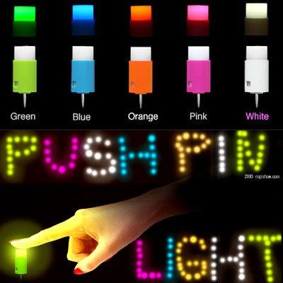 push light pin