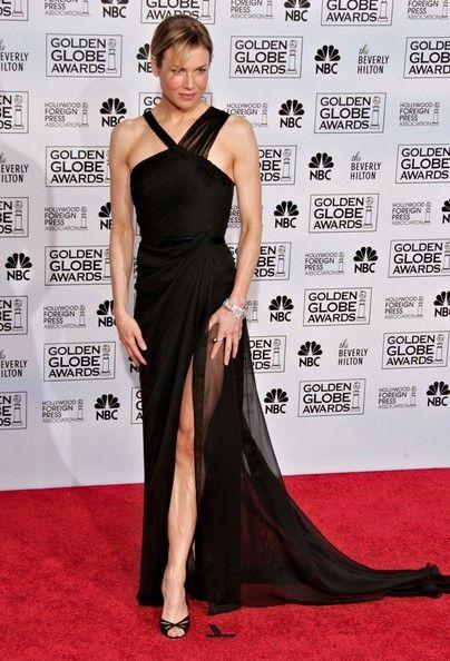 Renée Zellweger - Golden Globes 2006 in Carolina Herrera