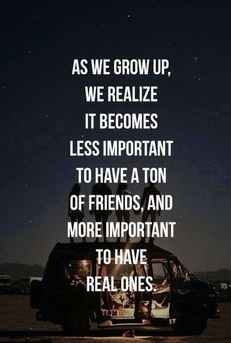 I'm blessed for the girls I have and for my love to be my best friend! Small circle and I love it that way!!!!