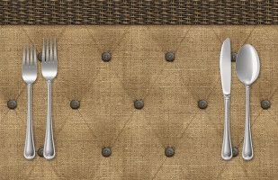 Tufted Paper Placemat @ Sussies Home