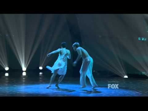 Melanie & Neil - 'Total Eclipse of the Heart' Contemporary routine by Mandy Moore (SYTYCD S08): That leap.....