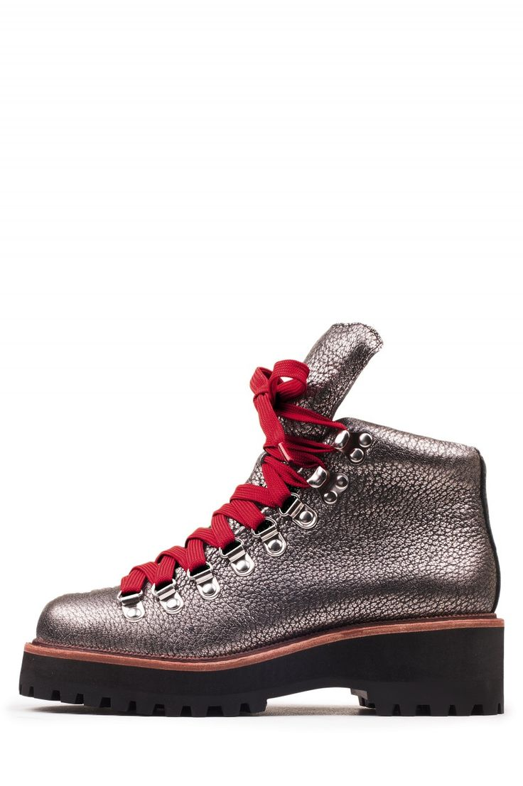 Jeffrey Campbell Shoes EXPLORER Great Outdoors in Pewter