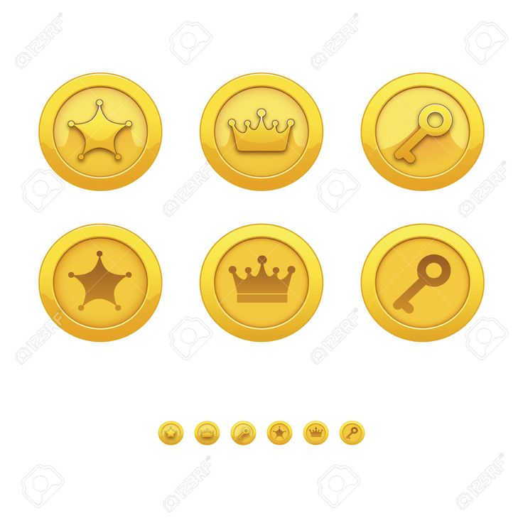 42505916-Game-icons-for-applications-gold-medal-award-star-crown--Stock-Photo.jpg (1300×1300)