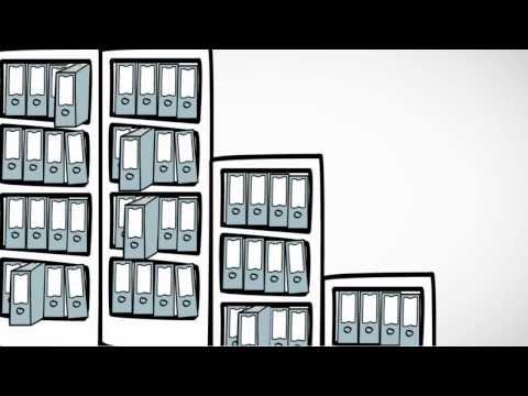 Das Mappei-Ordnungssystem. Die richtige Lösung für alle, die im Büro Platz und Zeit sparen wollen.