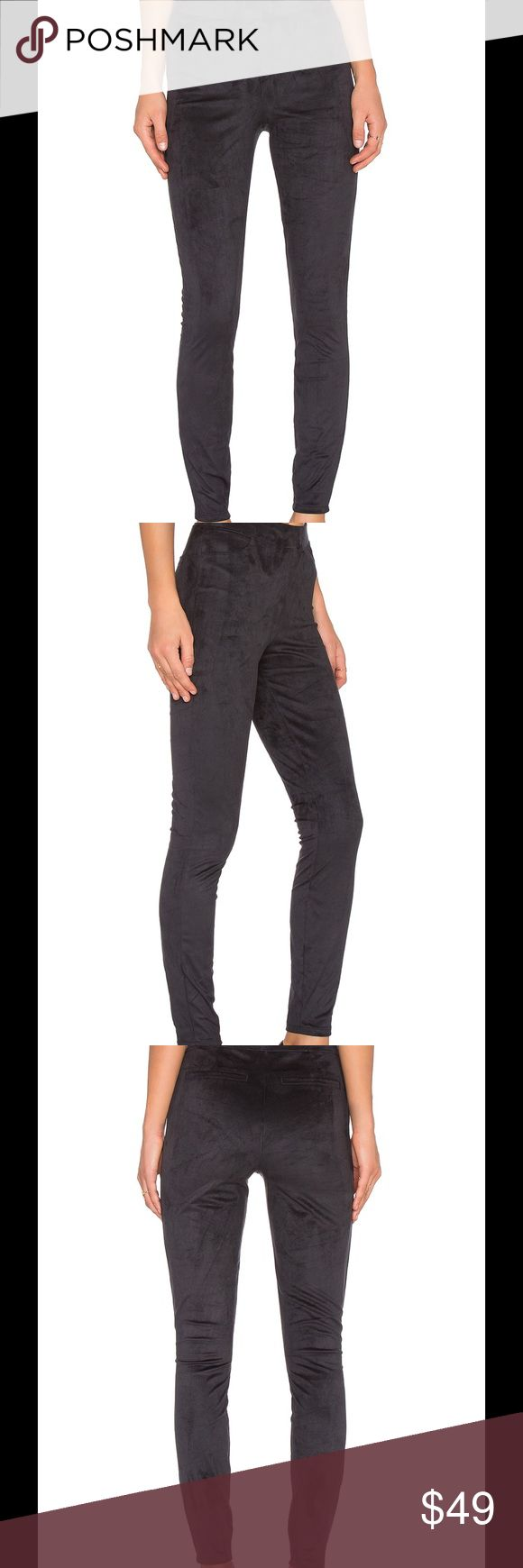 NWT Spanx Very Black Easy Suede Leggings XL NWT Spanx Very Black Easy Suede Leggings XL.  EASY SUEDE LEGGINGS  SPANX $98 OUT OF STOCK COLOR  VERY BLACK 90% poly , 10% spandex Stretch fit Manufacturer Style No. FL1215 SPANX Pants Leggings