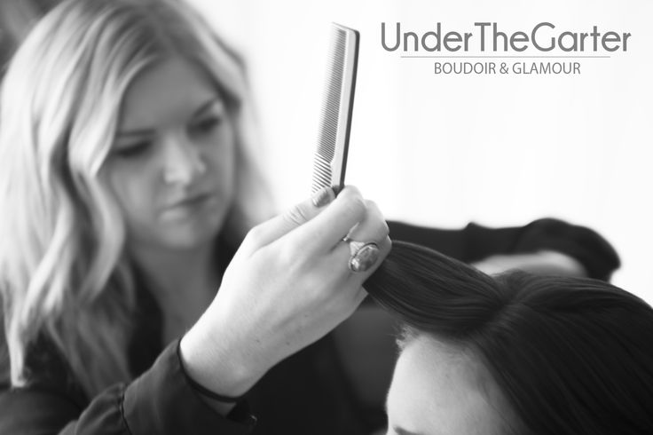 Meet Sarah, the super talented woman responsible for our client's #sexy hairstyles. #Boudoir #Denver