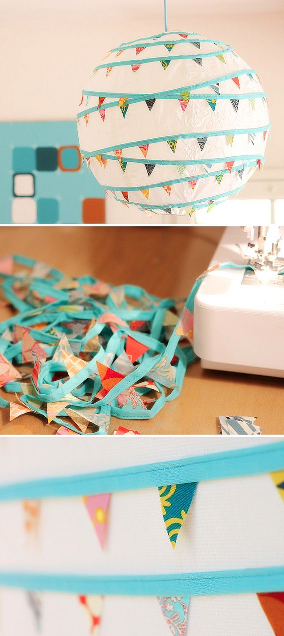 I have so much extra fabric and old lamps this would be a shame not to do!