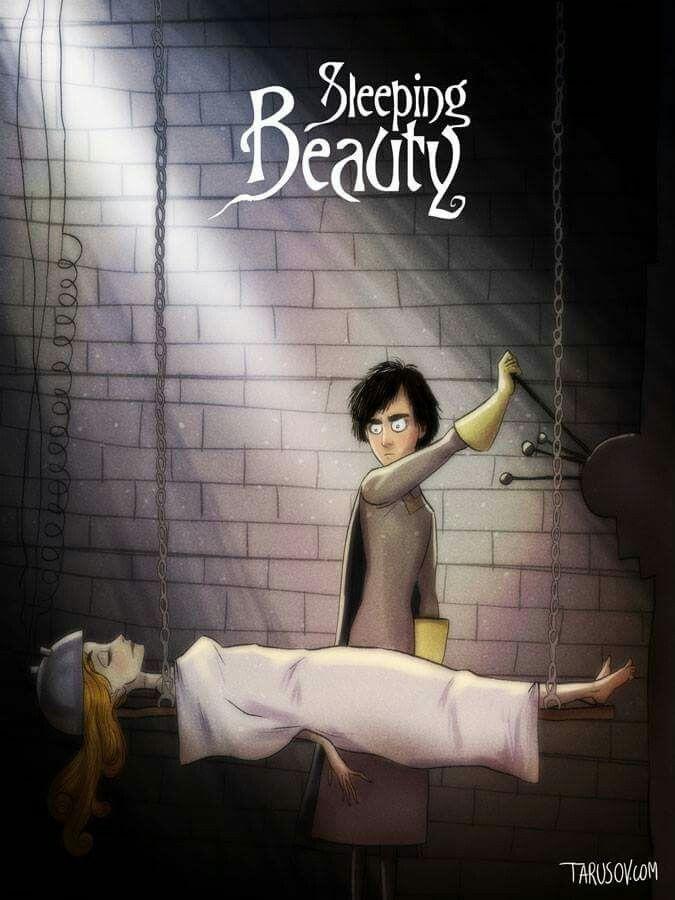 If Tim Burton directed Disney classics by Andrew Tarusov