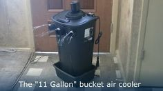 How To Make A Powerful Homemade Air Conditioner That Will Blast Cool Air You Can Feel From Across The Room. http://www.thegoodsurvivalist.com/how-to-make-a-powerful-homemade-air-conditioner-that-will-blast-cool-air-you-can-feel-from-across-the-room-brand-new-design-just-out/ #thegoodsurvivalist