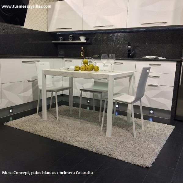 20 best images about mesa de comedor modernas fijas o extensible on pinterest mesas home and - Mesa pequena extensible ...