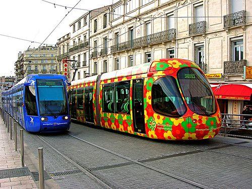 Tramway Ligne 1 et 2 - France (Montpellier)