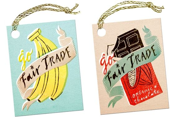 'Go Fair Trade' personal piece by Masako Kubo (pinning just in case I didn't already)