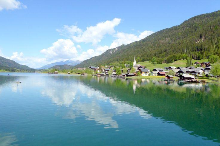 Ein Naturjuwel: der Weißensee, der am höchsten gelegene Badesee Europas http://www.gailtalontour.com/weissensee-alpenperle/