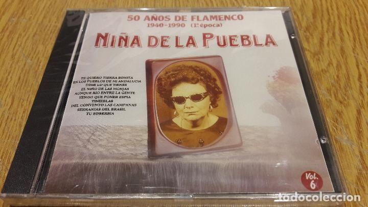 NIÑA DE LA PUEBLA / 50 AÑOS DE FLAMENCO 6 / CD / DIVUCSA - 1991 / 14 TEMAS / PRECINTADO.