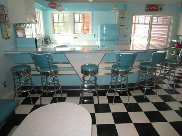 This Is Actually The Kitchen In Someone S House I Love Big Chill Appliances Retro Home Home Decor Retro Home Decor