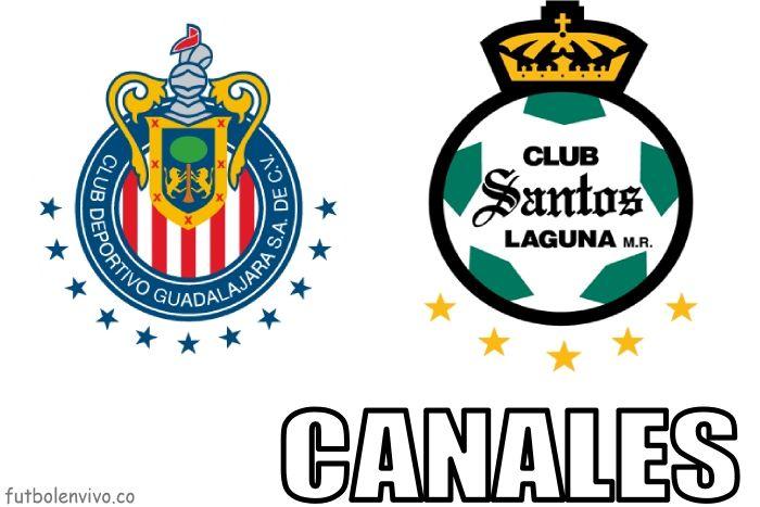 Chivas vs Santos canales de tv