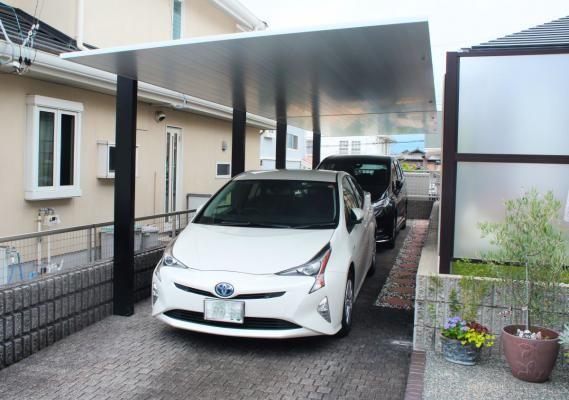 Lixil カーポートsc 三重県四日市市での施工例 2020 カーポート 施工 エクステリア
