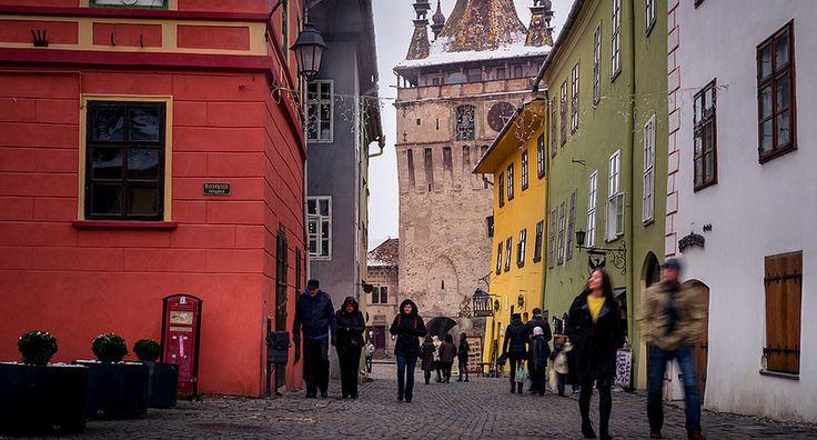 "This shot was captured in 2014 on a cold December afternoon. Back then, I saw a lot of tourists visiting the medieval citadel of Sighisoara despite that outside was very cold and it started to snow. Now, in the background of this photo is the Clock Tower which is one of the old medieval citadel's … Continue reading ""Tourists In The Medieval Citadel Of Sighisoara In Winter"""
