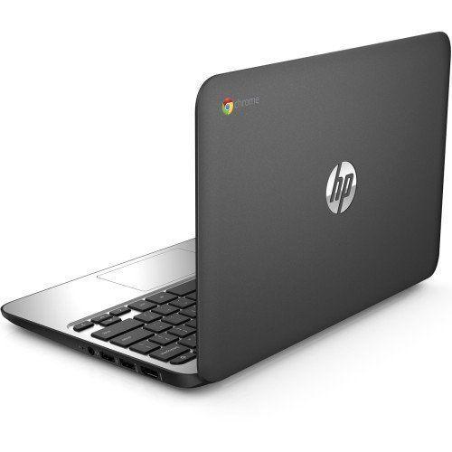 HP Chromebook 11 G4 11.6 Inch Laptop (Intel N2840 Dual-Core, 2GB RAM, 16GB Flash SSD, Chrome OS), Black  Display    11.6″ diagonal HD SVA WLED anti-glare (1366 x 768)    Processor    Intel® Celeron® N2840 with Intel HD Graphics (2.16 GHz, up to 2.58 GHz, 1 MB cache, 2 cores)    Memory    2 GB DDR3L-1600 SDRAM (2 GB onboard)    Hard drive size    16 GB eMMC flash SSD    Operating system    Chrome OS    PC type    Chromebook    Optical drive    None    Energy efficiency    ENERGY STAR®..