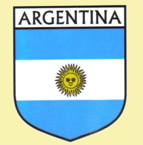 For Everything Genealogy - Argentina Flag Country Flag Argentina Decals Stickers Set of 3, $15.00 (http://www.foreverythinggenealogy.com.au/argentina-flag-country-flag-argentina-decals-stickers-set-of-3/)