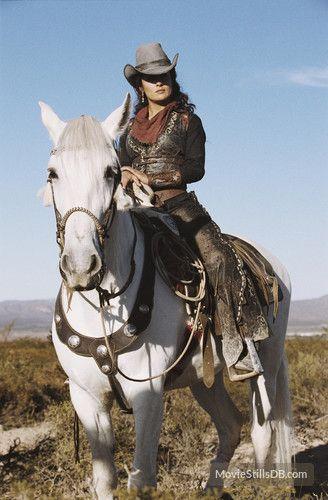 Bandidas publicity still of Salma Hayek