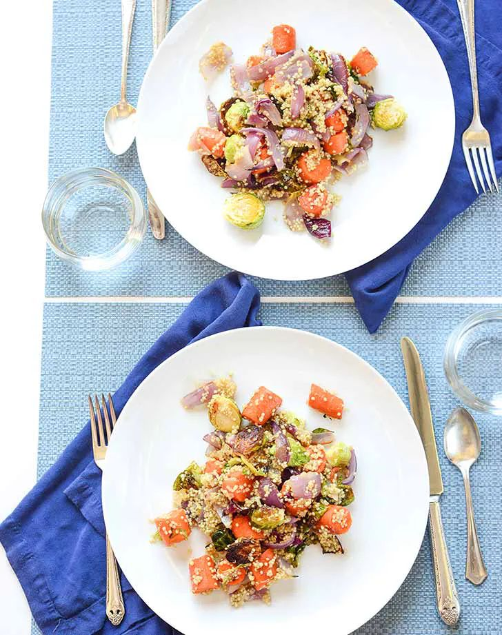 Roasted Brussels Sprouts Quinoa Recipe – PureWow   – Favorite Recipes