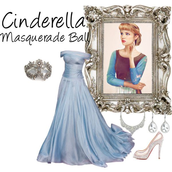 """Cinderella (Masquerade Ball)"" by idmiliris on Polyvore"