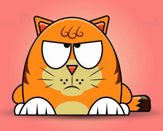 Cat Garfield almost. #cat #arts #design #evil #mood #graphics #freelancediscount