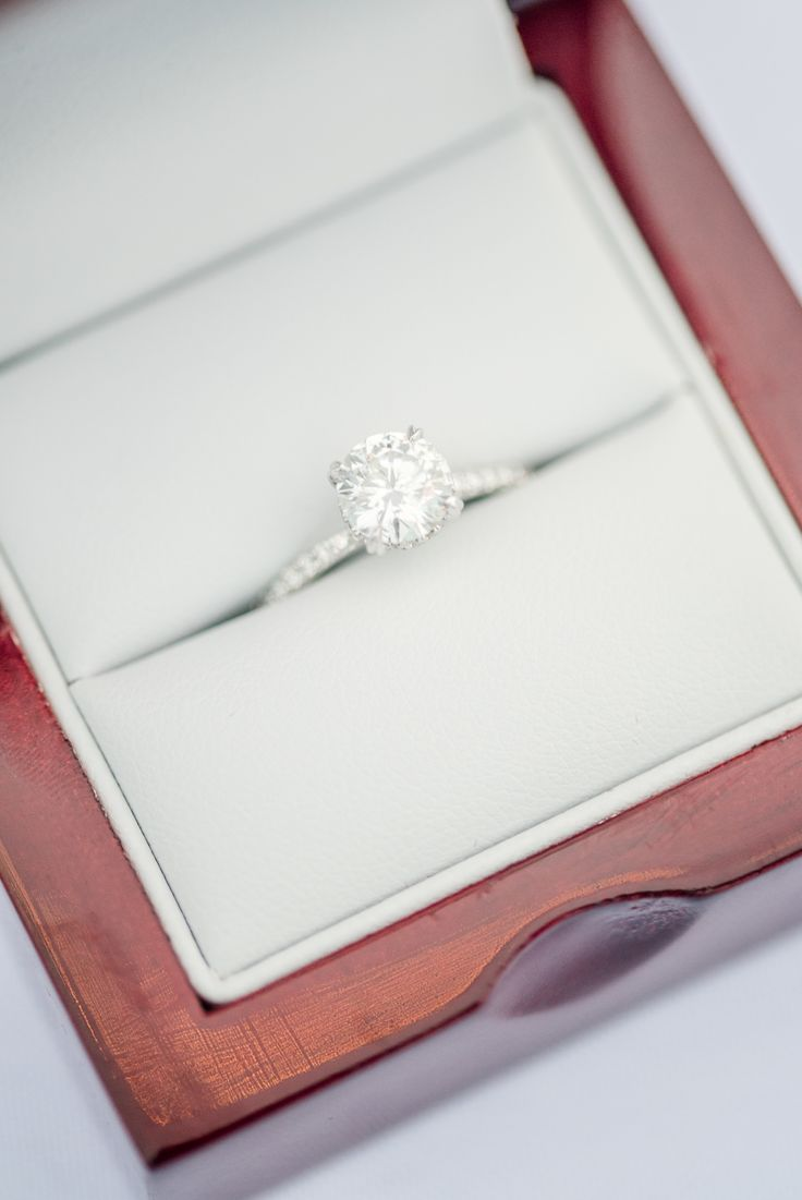 This solitaire engagement ring is definitely a yes.