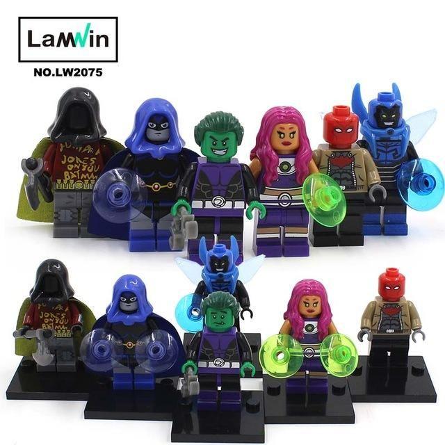 Marvel Avengers Building Figures DC Super Heroes X-Men Iron Man Batman Spider-Man Justice Leagure LegoINGly Mini Blocks Figures